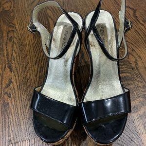 Barely worn Steve Madden platform sandal